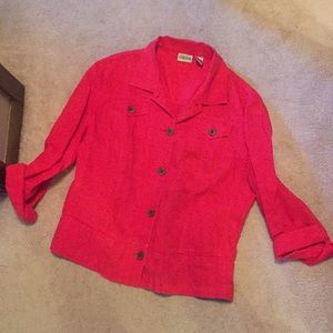 chicos women's jacket size 2